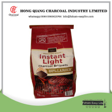 Hongqiang making bbq charcoal briquettes from sawdust