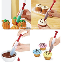 Silicone Cream Chocolate Icing Cake Decoration Pastry Pen