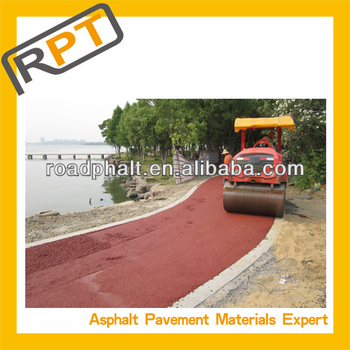 sell colored cold modified Asphalt mixture