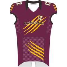 ODM cheapest wholesale customized american football jersey sublimated