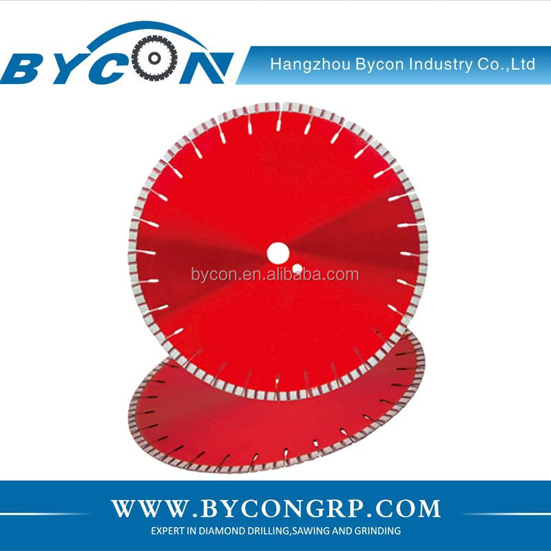 "12""~18'' laser tile cutting blade for concrete, brick"