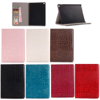 High Quality Crocodile Pattern Leather Stand Back Case for iPad Mini 4, For iPad Mini4 Leather Case