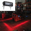 fork truck safety lights red forklift safety light blue safety spot warning light