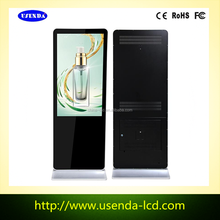 65 Inch Factory LCD Standing Vertical TV Display Retail with Android System