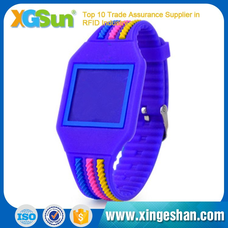 Top Level Factory Alibaba Size Adjustable Silicone Rfid Wristband