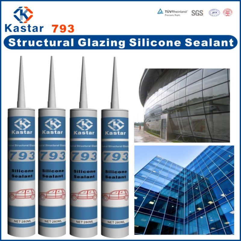 Trade Assurance high strength silicone sealant 100% RTV silicone
