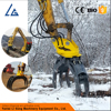 hydraulic small rotating log grapple for sale