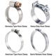 China Stainless Steel Germany Type Hydraulic Tube Pipe Hose Clamp Clip