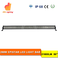Low Defective Rate OEM Acceptable Wholesale Price 50Inch Triton LED Light Bar for Ford Semi Truck LED Light Bar