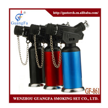 gas brazing welding torch lighter GF-861for cigar cigarette sugar creme brulee pudding lollipop