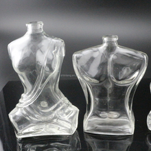 shanghai linlang body shaped perfume glass bottle