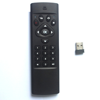 MX3 Multifunction 2.4G Air Mouse Mini Wireless Keyboard & Infrared Remote Control & 3-Gyro 3-Gsensor W USB Wireless Receiver