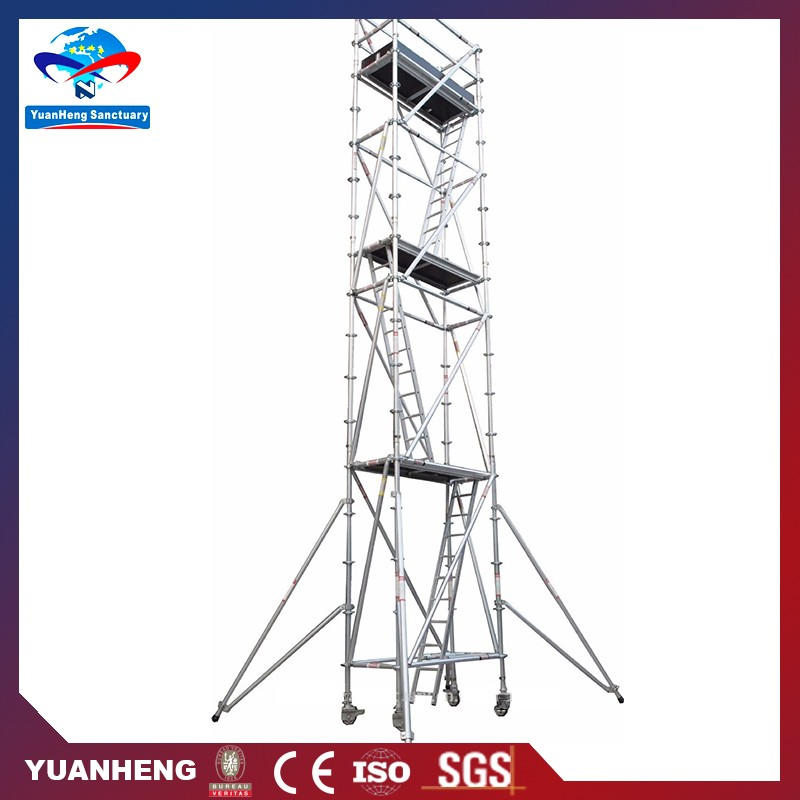 Convenient upright aluminium scaffolding support services