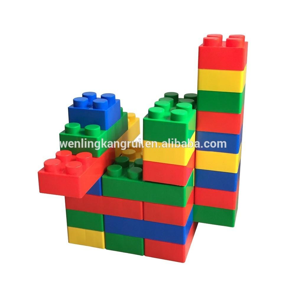en plastique grands blocs de construction jouets pour enfants bloc de construction id de produit. Black Bedroom Furniture Sets. Home Design Ideas