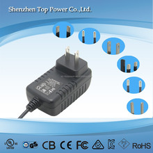 travel charger 12w 24v0.5a power adapter 12w 24v 0.5a ac dc powe adapter for small electronics