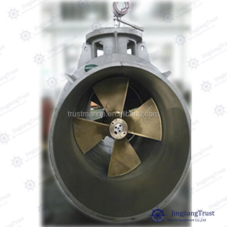 Marine Lateral Thruster With Contra-rotating Boat Propeller