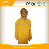 color waterproof transparent fashion pvc adults outdoor rain suit
