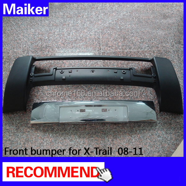 original front bumper for Nissan X-Trail accessories 2008-2011 body kits