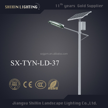innovative energy saving products LED antique lighting pole solar street light