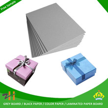 wholesale packaging material thick cardboard paper sheets for rigid paper box