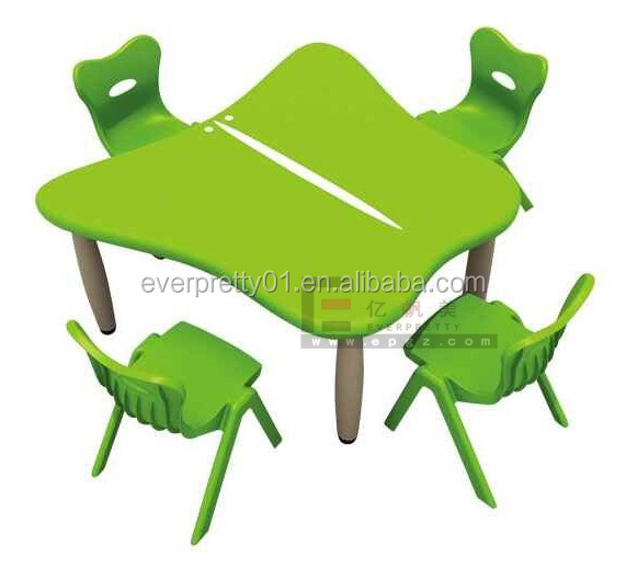 School Furniture Adjustable Wood Desk Chair for Kids