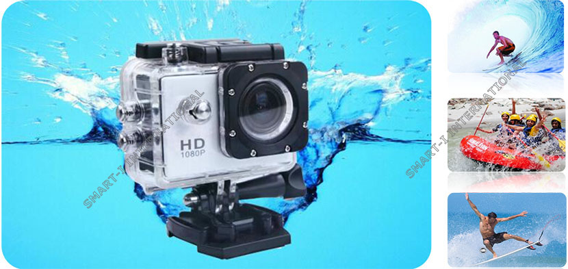 Ski/Diving/Cycling/Skydiving extreme sports DV Wifi Full HD 1080p Sports camera