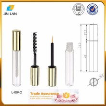 Plastic empty eyeliner liquid container / make up cosmetic eyeliner pen tube package