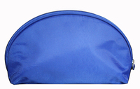Blue nylon cosmetic bag 2015,cosmetic bag organizer ,mens travel cosmetic bag