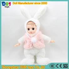 (YW-XR170101) Wholesale plush stuffed baby doll german toy manufacturers