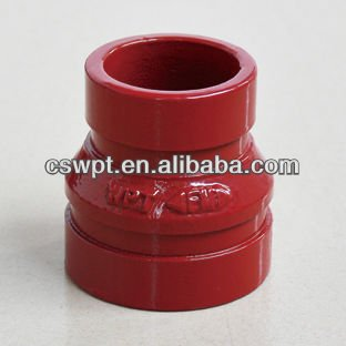 UL/FM con. reducer grooved and other pipe fittings
