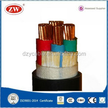 0.6/1kV low voltaged hs code for power cable