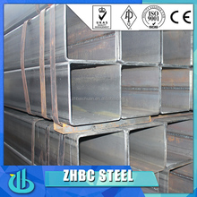 High quality mild steel hollow bar/rectangular and square steel bar
