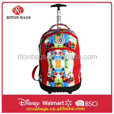 Fantastic Trolley Bag Most Popular Single Trolley Style For College Girls