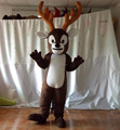 Hola christmas costumes/reindeer mascot costume for sale