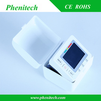 Bluetooth wrist blood pressure monitor bp apparatus with FDA CE