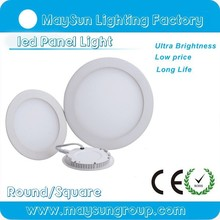Factory price High brightness led ceiling panel light 6w 9w 12w 15w 18w 24w round led panel light