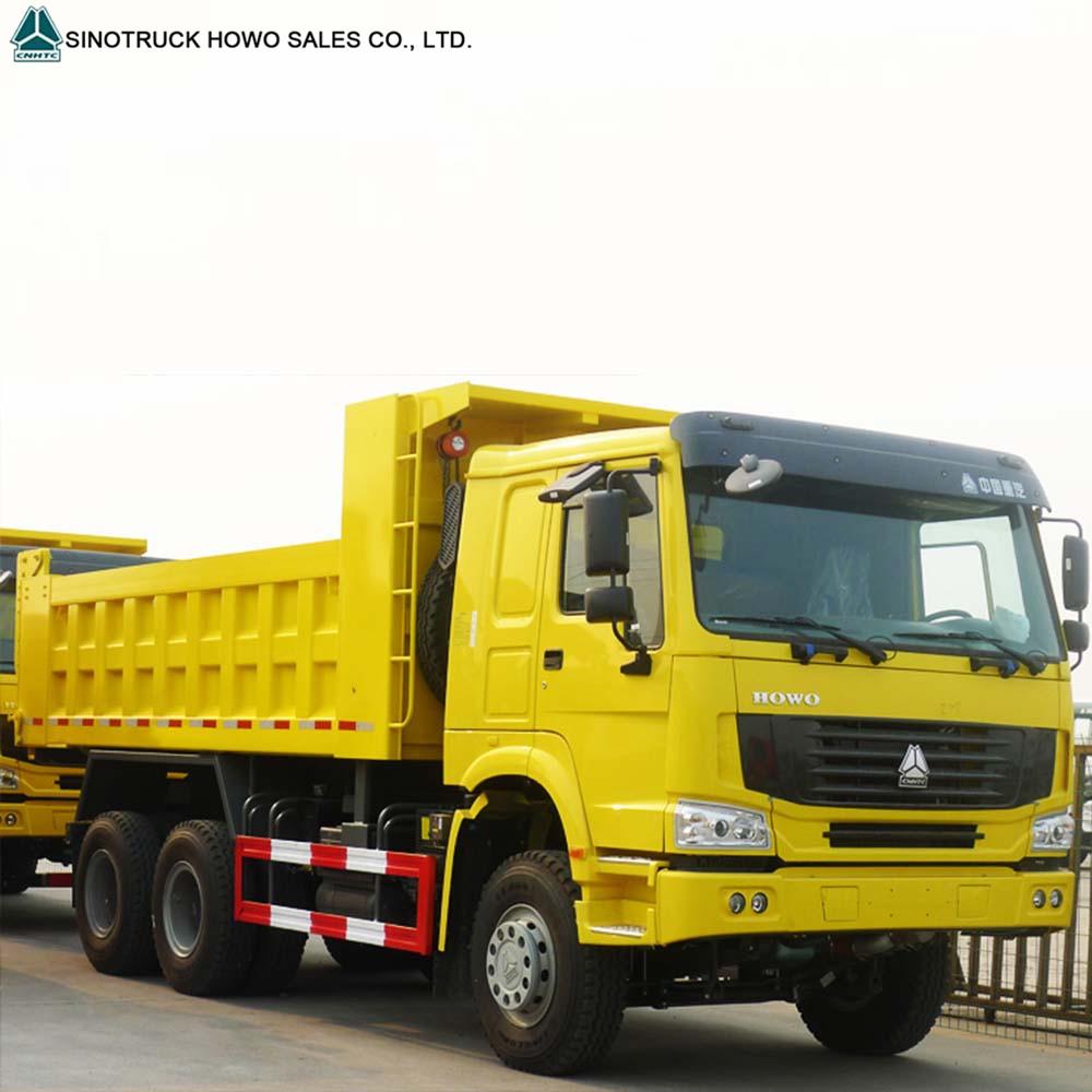 Heavy Loading Capacity Tipper Sinotruk Howo 10 Wheeler