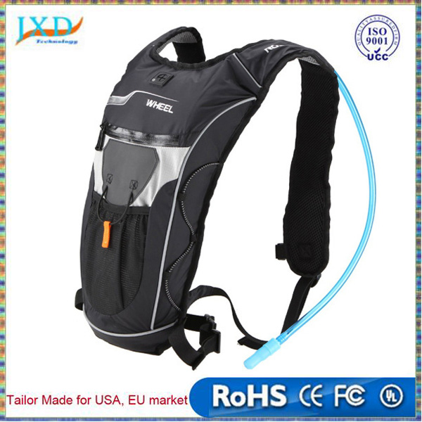 Ros wheel Lightweight Outdoor Hiking Hydration Backpack Cycling Bike Riding Running Hydration Knapsack 5L Backpack +2L Water Bag