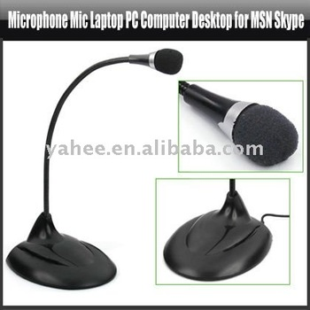 Microphone Mic Laptop PC Computer Desktop for MSN Skype,YAN308A