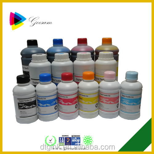 High washing resistance Digital textile printing ink for Brother J125 printer