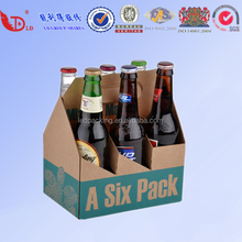 6 bottles beer carrier boxes for shipping wine glasses