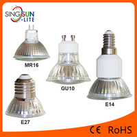 High Brightness CE Rohs GU10 MR16 E14 E27 60 Degree 300LM Dimmable SMD3528 LED Spotlight Price