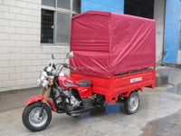 Customized design tricycle with rear tent 150cc 200cc