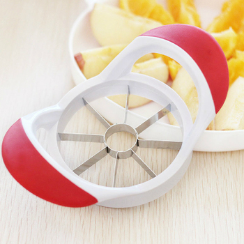 Huller gadget corer stainless steel core tool apple slicer