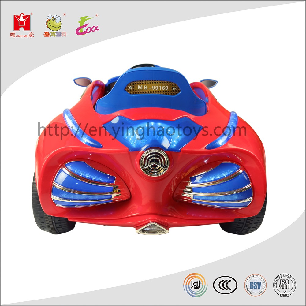 Toy Cars Product : Newest spiderman electric battery toy car remote