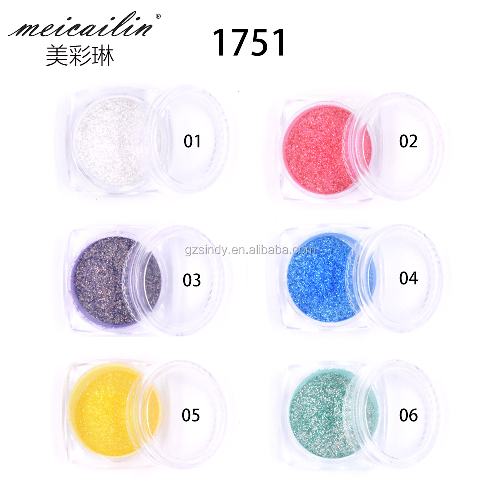 0.2g/box Neon Mirror Powder Ultra-thin Holo Nail Glitters Aurora Mermaid Dust Pigment Manicure DIY Nail Art Decorations