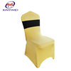 High Quality 100% Polyester Mini Matt chair tablecloths and chair cover XY368 Ruffle Spandex Chair Covers With Diamond Buckle