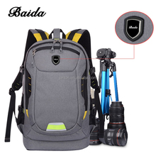 Custom Dslr SLR Camera Backpack Rucksack Bag Case Shockproof Waterproof for Canon Nikon Sony Panasonic Olympus Pentax and Access