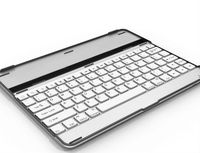 New Style thin Aluminum bluetooth keyboard case for ipad 3