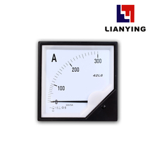 China Analog 42L6 AC Ammeter Analog Panel Meter